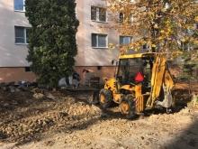 Rekonštrukcia chodníkov - Žiar nad Hronom